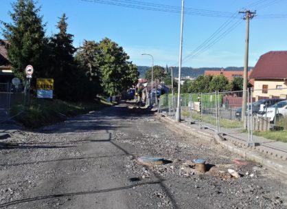 Rekonstrukce silnice č. II/300 Dvůr Králové nad Labem
