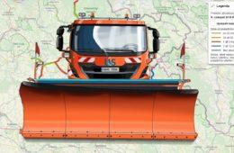 Obslouženost silnic vozidly zimní údržby