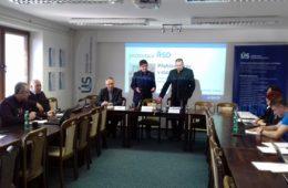 Tisková konference k zahájení silničních staveb pro rok 2019